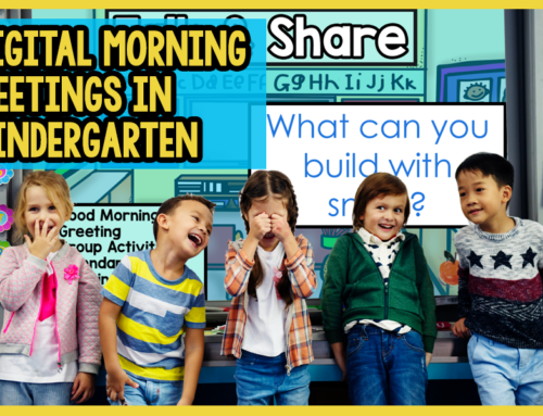 Morning Meeting Activities for Kindergarten