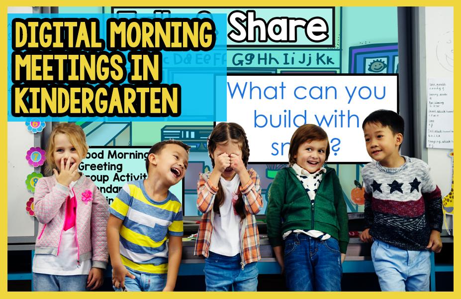 Morning Meeting Activities for Kindergarten