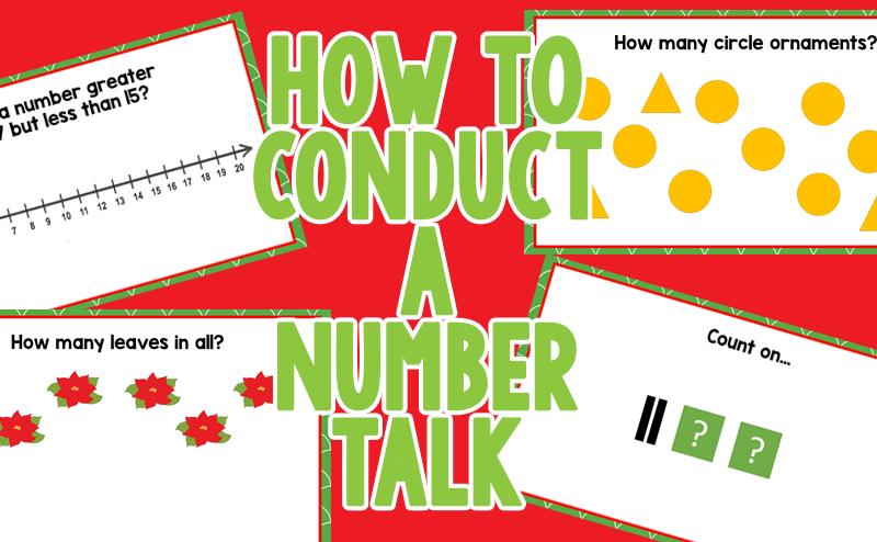 Number Talks for Kindergarten