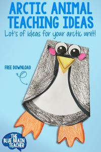 Free Penguin Craft Kindergarten