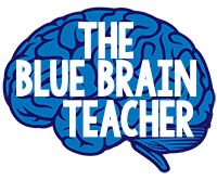 The Blue Brain Teacher by Selma Dawani Logo