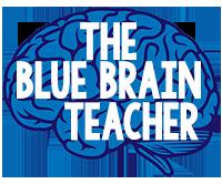 The Blue Brain Teacher * Engaging Resources for Elementary Teachers Logo