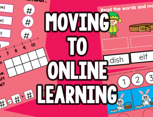 Moving Kindergarteners to Online Learning during the Coronovirus Pandemic