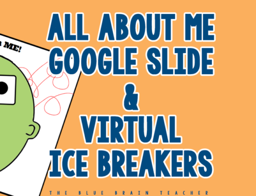 All About Me Google Slides & Virtual Classroom Ideas for Distance Learning