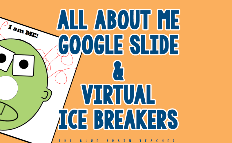 All About Me Google Slides & Ideas for Distance Learning