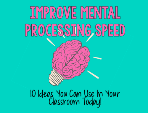 Improve Mental Processing Speed with these 10 Strategies