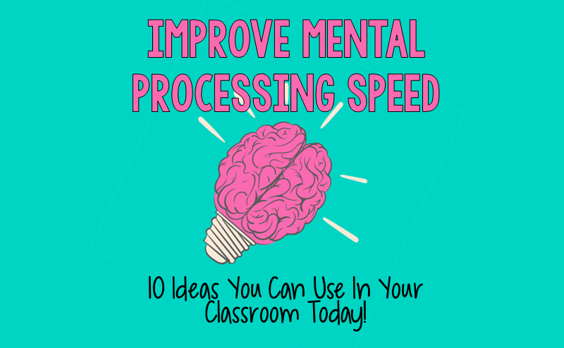 mental processing speed