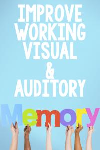 improve working memory