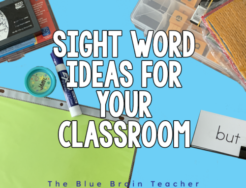 How to Easily Teach Sight Words for Kindergarten
