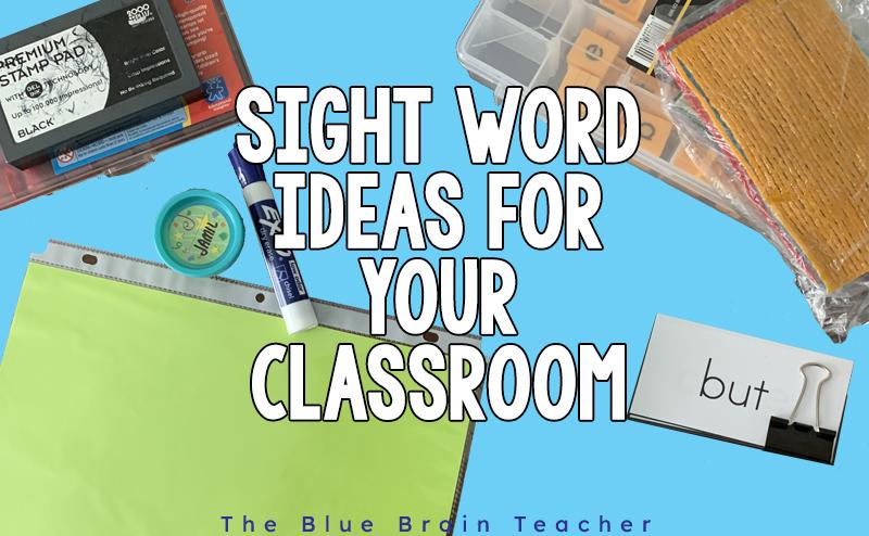 How to Easily Teach Sight Words for Kindergarten