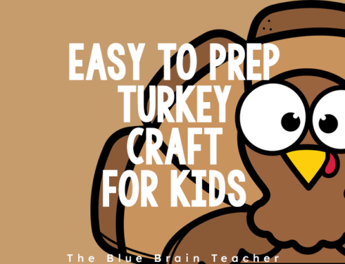 Easy Turkey Craft for Kids