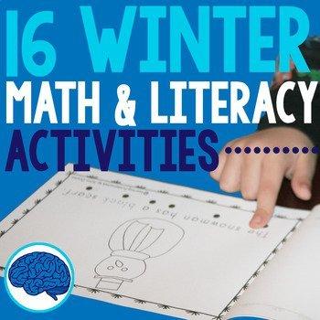 Winter Themed Activities for Preschool and Kindergarten