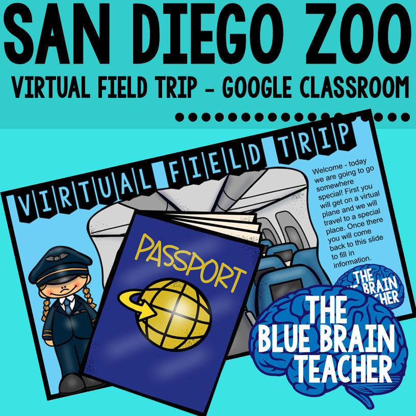 Virtual field trips for kindergarten san diego
