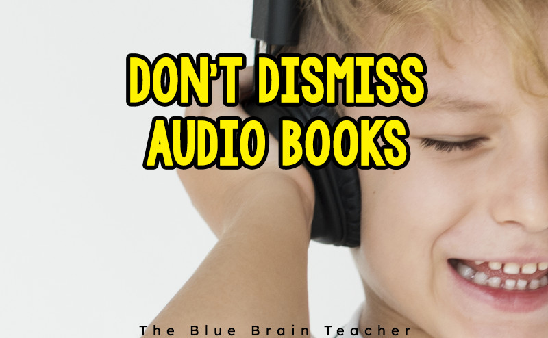 Improving Fluency & Comprehension with Audio Books