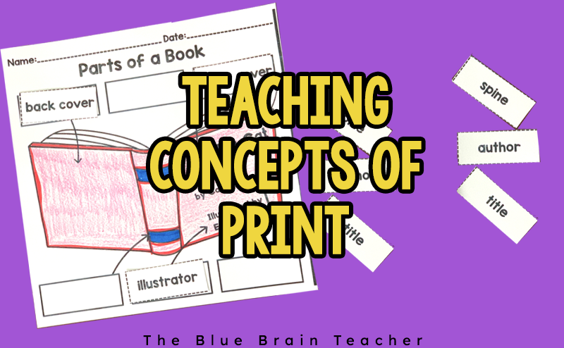 Teaching Concepts of Print to Beginning Readers