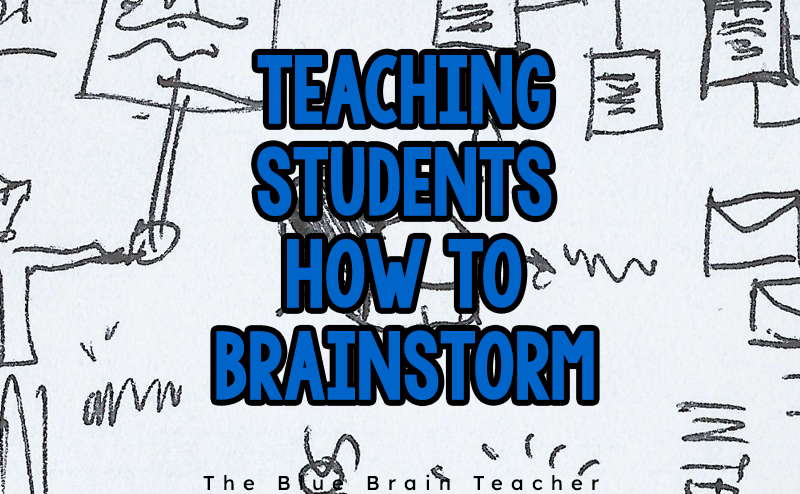 How to Teach Brainstorming