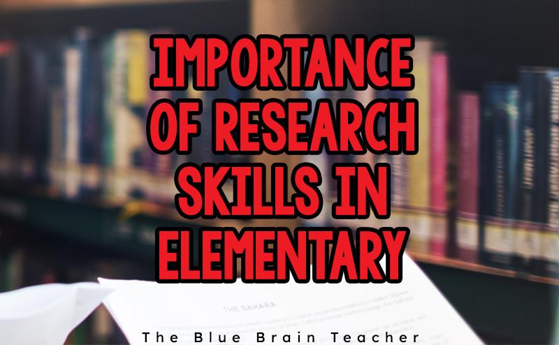 Elementary School Research