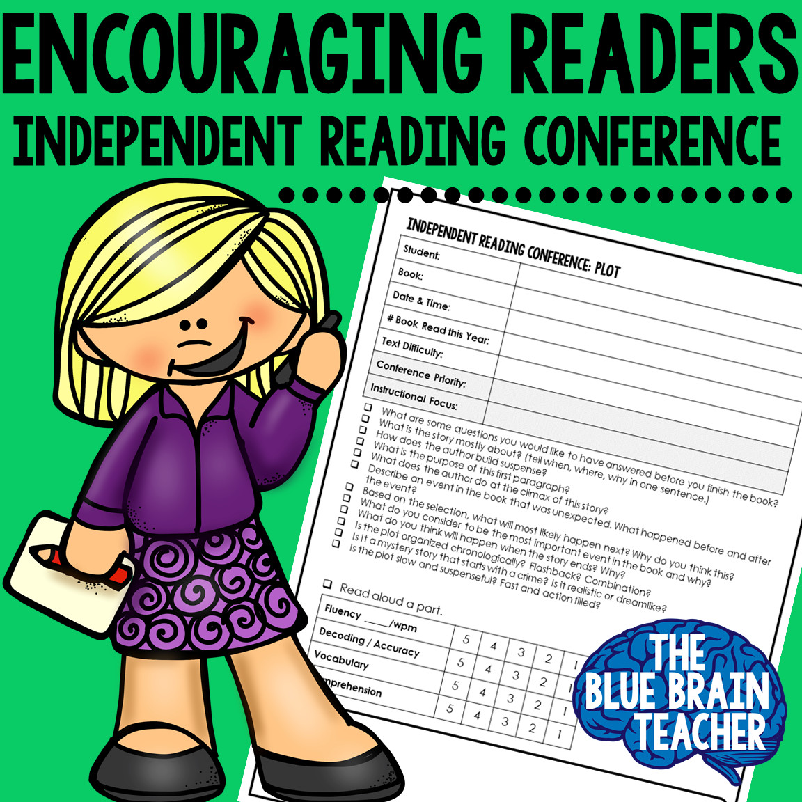 Independent Reading Conference Forms