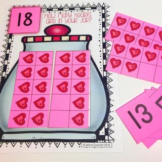 Who needs a Valentine's themed math center perfect for your cutie kinders? Link in my bio.