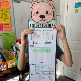 I am having a giveaway with my friends at The Reading Crew - be sure to go to my blog and grab this #storymapping #freebie to use with #astoryforbear and enter the giveaway!